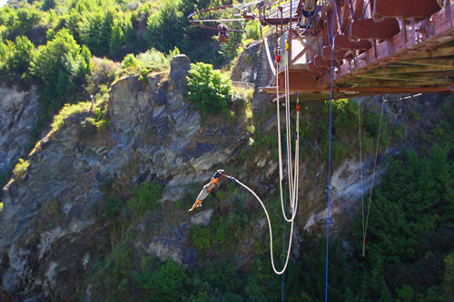 team building milano bungee jumping