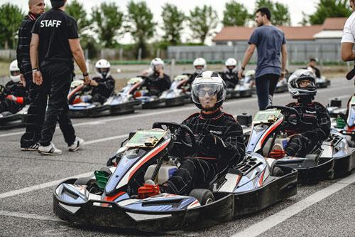team building milano go kart